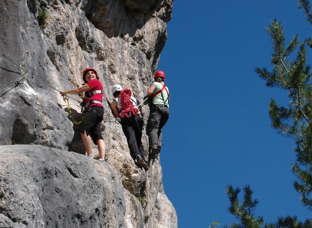 Climbing garden Kanzianiberg