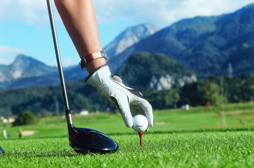 Enjoy a flight at the golf cours