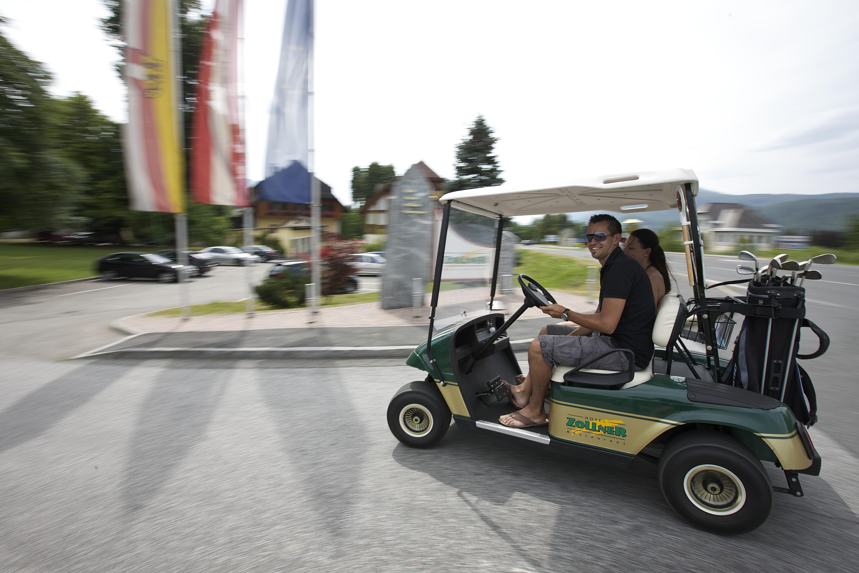 Golf in der Nähe des Hotel Zollner