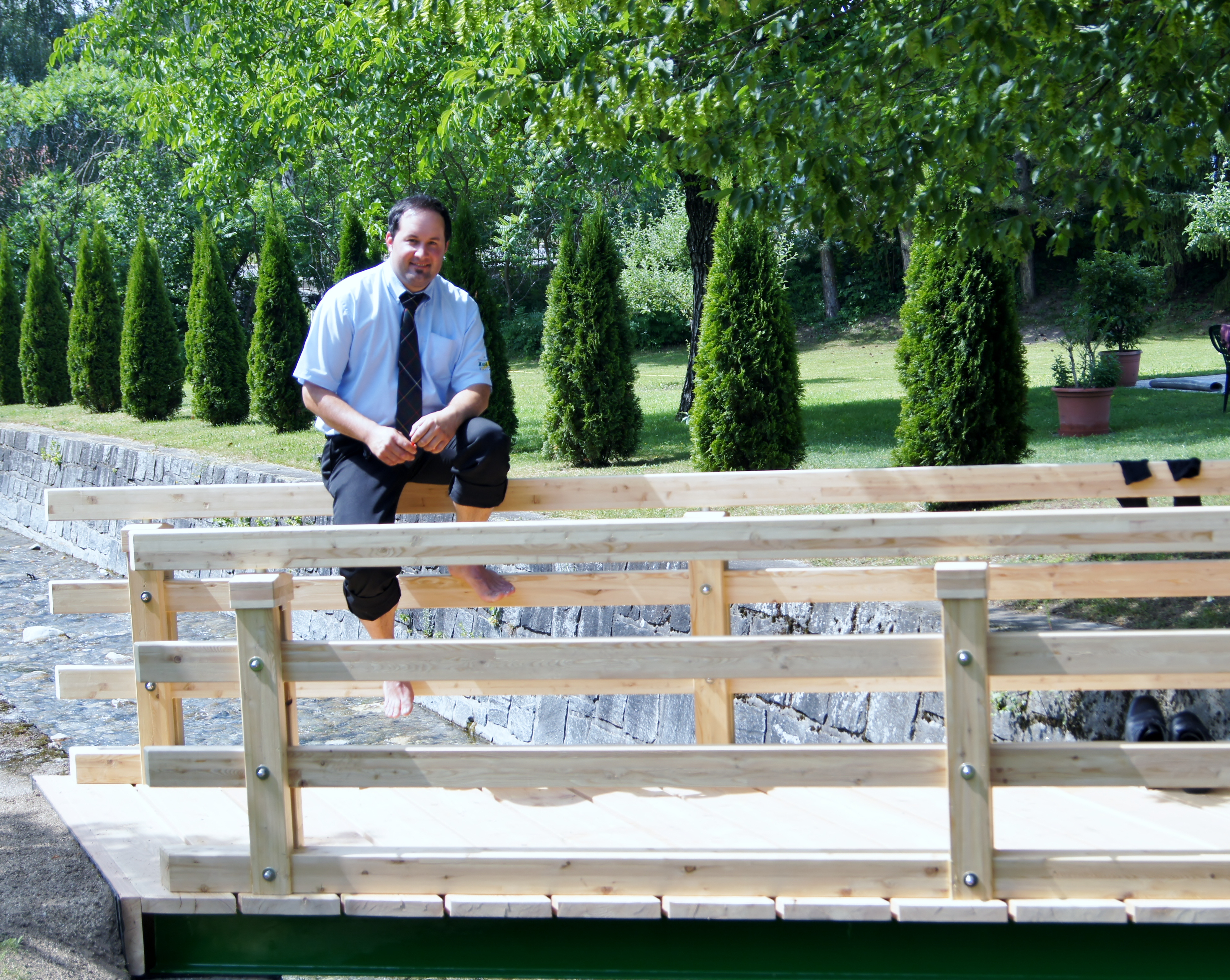 Post Thunbmail … die Brücke ist fertig!