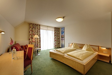 Doppelzimmer im Hotel Zollner